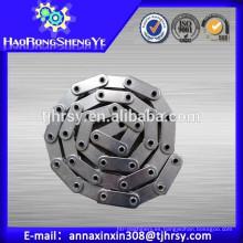 Cadena de rodillos huecos de doble paso de acero carbono C2082HP