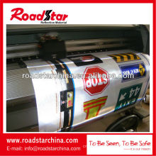 Advertising grade reflective film for digital printing