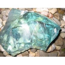 Rocas de vidrio triturado