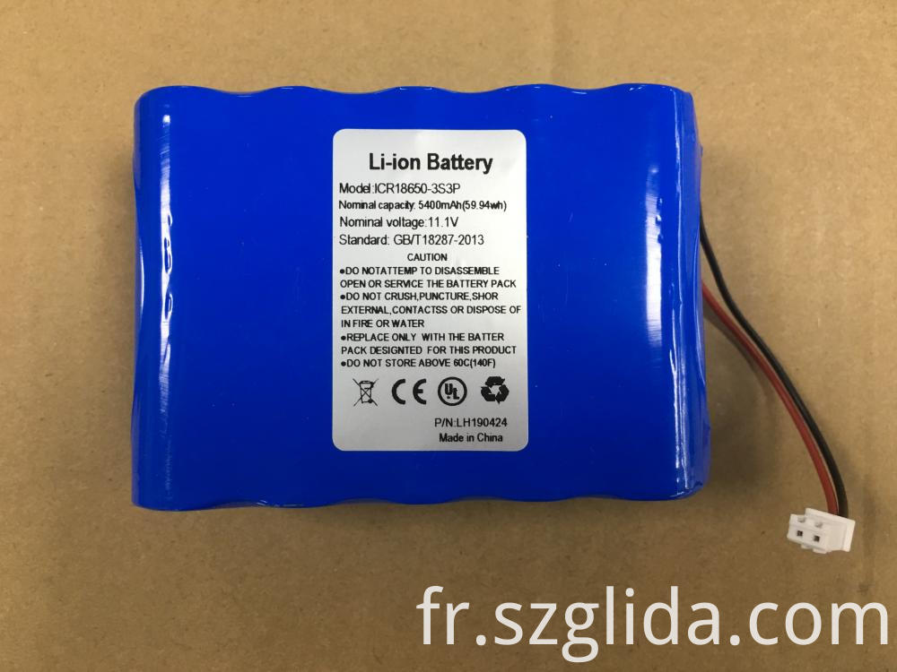Custom 1450mAh Batteries