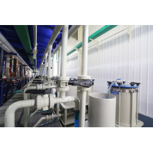 Auxiliary equipment filters of plating line filter equipment