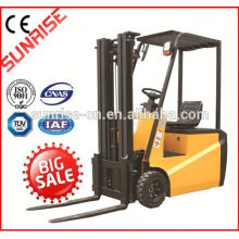 capacidade de carga elétrica quente barata de alta qualidade da empilhadeira 1.5ton do caminhão 1500kg do tipo