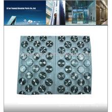 Bouton d'ascenseur Mitsubishi, bouton bouton d'ascenseur, bouton tactile Mitsubishi ascenseur