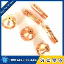 China fabricante xingtai160 eléctrodo de corte de plasma e bico