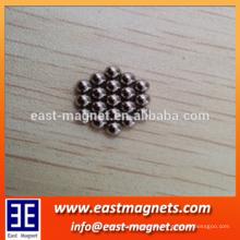 China industrielle Versorgung unterschiedliche Größe Magnet Ball ni beschichtet für Spielzeug / kleine & große Ball starken Magnet zum Verkauf