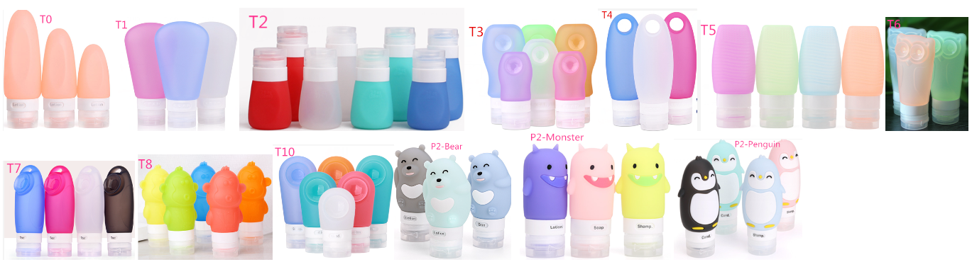 travel squeeze bottles