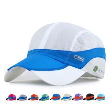 Moda adultos anti UV boné de beisebol de secagem rápida (yky3428)