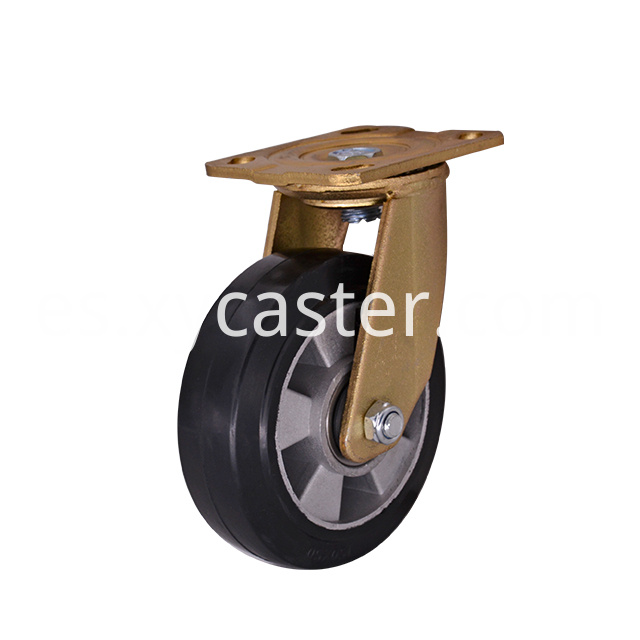 6 Inch Rubber Caster