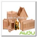 Audu Wooden Planter Set/Wooden Planter Boxes/Wooden Pot