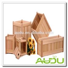 Набор деревянных плантаторов Audu / Деревянные комоды / Деревянный горшок