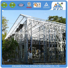 Best selling products certificated steel prefabricated hotel