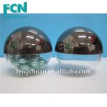 Conteneur d'emballage cosmétique Capsule Jar 70mm en forme de dôme