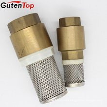 "GUTENTOP 1/2"" Brass In-Line Spring Valve Brass Vertical Check Valve (FOOT VALVE)"