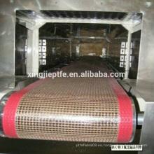 Los últimos productos ampliamente utilizados industrial teflón cinta transportadora