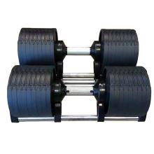 Bodybuilding Gym Equipment Weightlifting Strength Training Adjustable Dumbbells Set