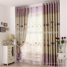 China cortinas casa cortinas térmicas blackout não tóxico