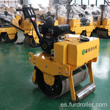 Rodillo compactador de tambor vibratorio Walk Dehind Earth Compactor One Drum (FYL-700)