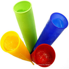 Hot Selling Silicone Ice Pop Molds