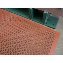Grass Gateway Drainage Rubber Mat, Soccer Sport Field Rubber Flooring