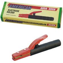 600A 800A American Kupfer-Beschichtung Eisen Schweißen Elektrode Halter, American Typ Schweißen Elektrodenhalter