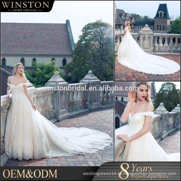 Высокого класса фабрики Китая прямые оптовые свадебное платье отель