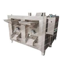 máquina automática de torrefação de nozes de carité
