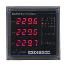 Instrumentos de medida Ex4610 Medidor de energía eléctrica multifunción de tres fases