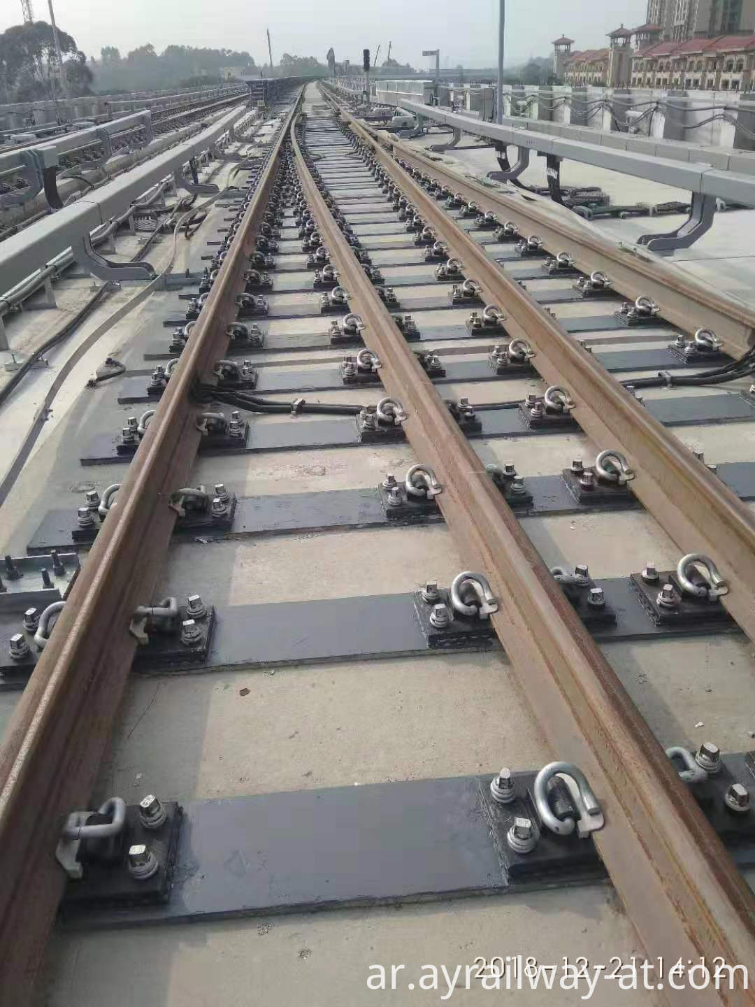 Composite Metal Railroad Ties