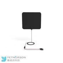Antena de TV rectangular de película fina con pegamento 3M