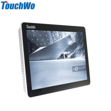Mala de metal de 17,3 polegadas tablet PC comercial