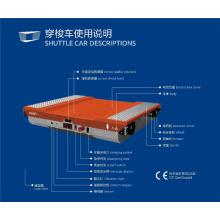 Китай производитель Паллетный челнок для холодного хранения