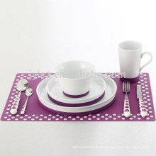 Tischsets aus Silikonkautschuk