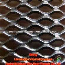 High quality silver stainless steel wire expanded metal fence in store