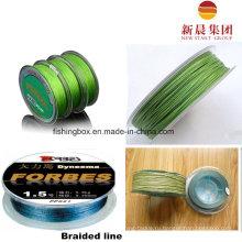 Lignt зеленый цвет плетеный линии