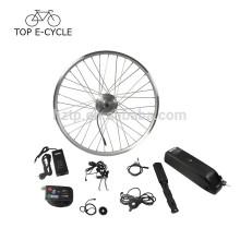 Kit de bicicleta elétrica barato 350 W kit ebike kit de conversão de bicicleta elétrica 36 V