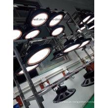 100- 150W LED alta luz de la bahía UFO redondo para el almacén industrial