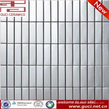 высокое качество продукции прямоугольник из нержавеющей стали мозаики плитки