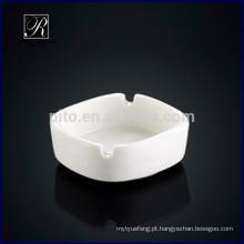 P & T ROYAL WARE porcelana por atacado quadrado cinzeiro cinzeiro cerâmica romântica