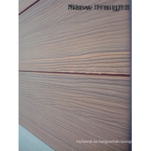 Panel de pared de coextrusión Woodgrain