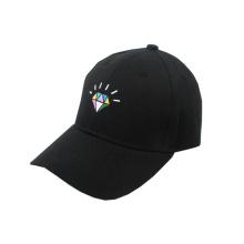 Blank Adjustable Black Baseball Cap