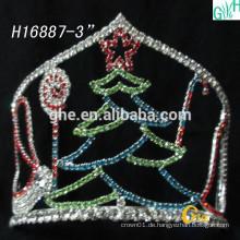 Mode-Braut-Kronen-Großhandels-Festzug-Kronen und schöne Weihnachtsbaumkrone