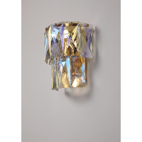 Lámpara de pared de cristal decorativa de moda moderna sala de estar