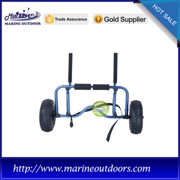Aluminium boat trailer, EVA pad kayak cart, Trolley for kayak