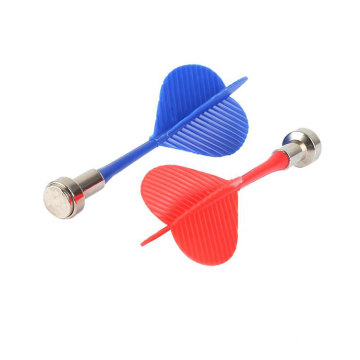 10pcs Magnetic Throwing Darts Game Soft Magnetic Dart Arrow