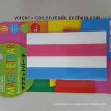 Banda magnética plástica, barra magnética (OI42002)