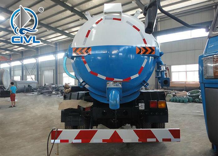 4x2 Sewage Suction Truck 7