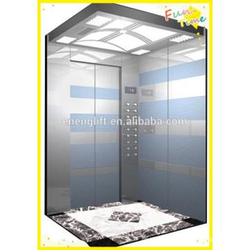 Alta qualidade comercial vvvf elevador de passageiros