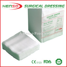 Henso Cotton Gauze Sponges Compress