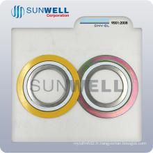 Joint en spirale en métal