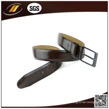 Cinturones de cuero de la vaca de la correa de cuero de los hombres de la alta calidad